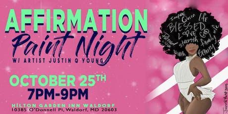 Affirmation Paint Night-Waldorf, MD tickets