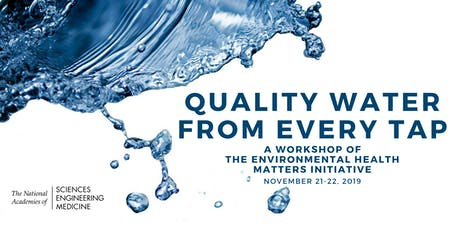Quality Water from Every Tap: A Workshop of the EHMI tickets