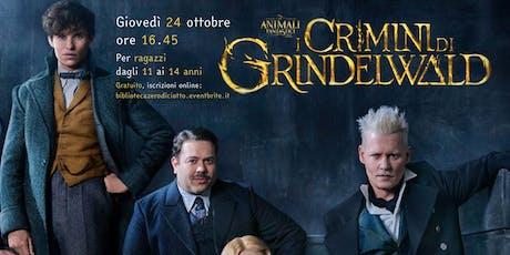 I crimini di Grindelwald (11-14 anni) biglietti