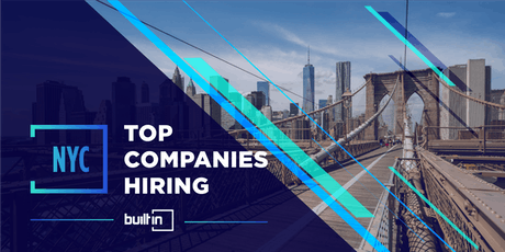 Built In NYC's Top Companies Hiring tickets