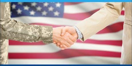 2019 Rural Capital Area Hiring Red, White and You Veterans Job Fair Job Seeker Registration tickets