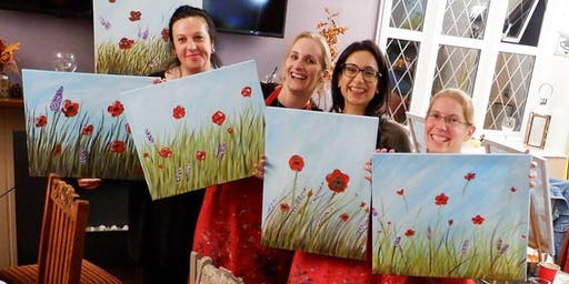 Poppy Field Brush Party - Didcot