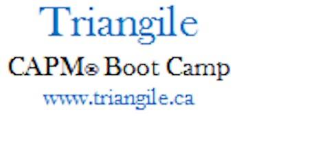 CAPM® Exam Prep Boot Camp - Waterloo, Ontario tickets