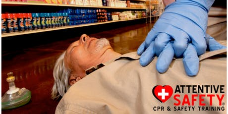CPR AED Training (Adult, Child, and Infant) $65- Same Day Certification tickets