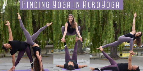 Finding Yoga in AcroYoga: Workshops with Giulia & Lauren tickets