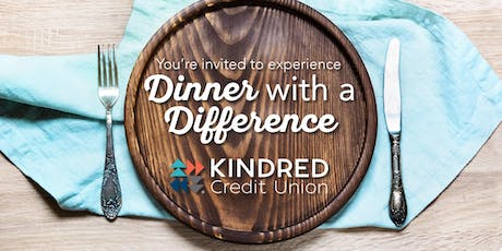 Dinner with a Difference tickets