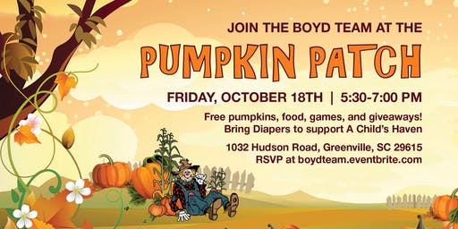 The Boyd Team Pumpkin Patch