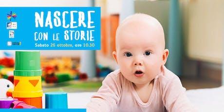 Nascere con le storie (6-14 mesi) biglietti