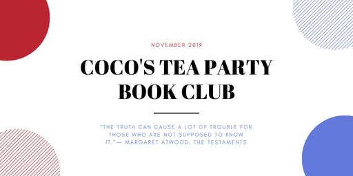 Coco's Tea Party Book Club | The Testaments by Margaret Atwood