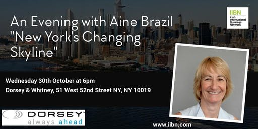 """An Evening with Aine Brazil """"New York's Changing Skyline"""""""