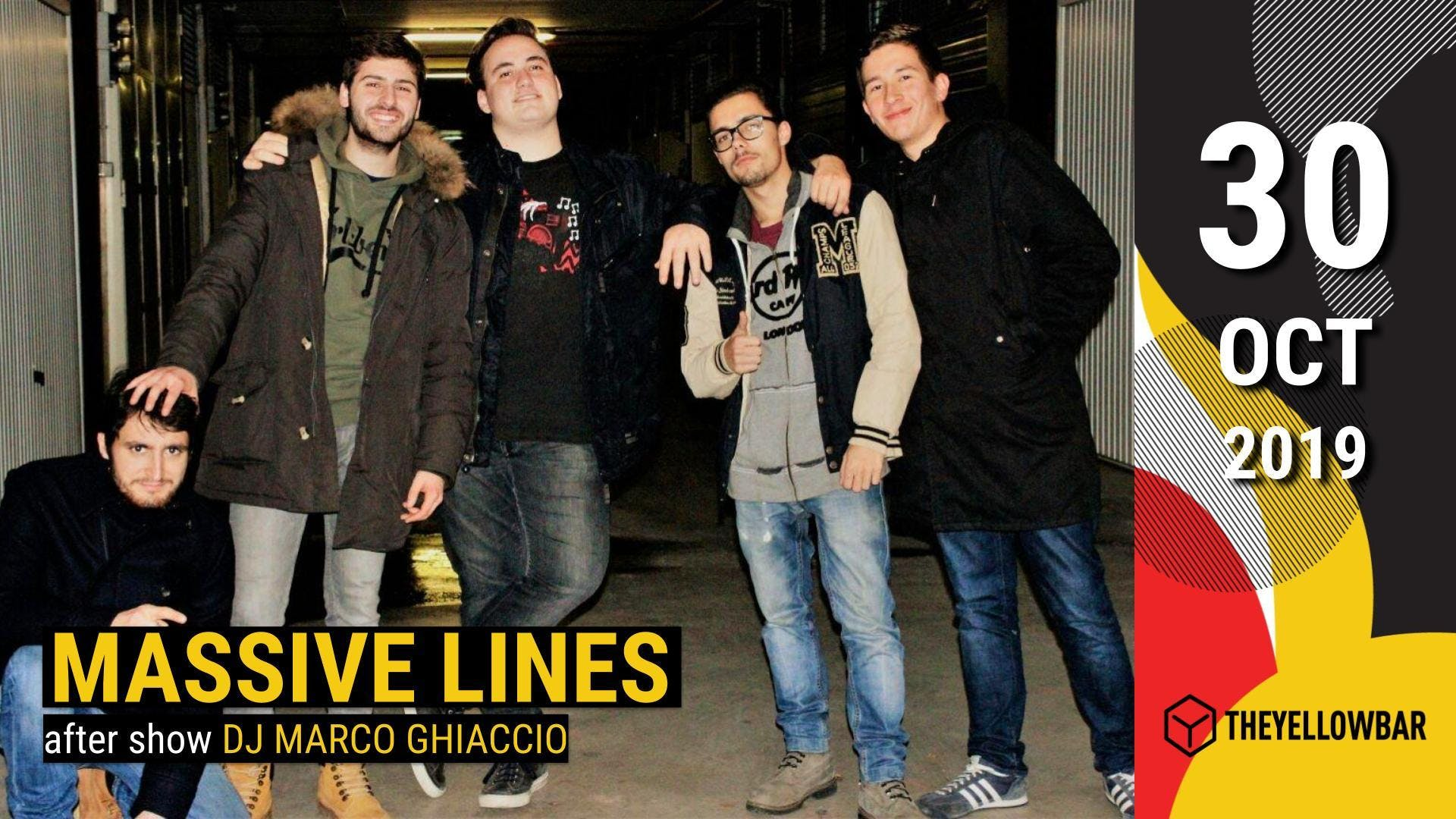 Massive Lines - The Yellow Bar