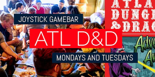 ATL D&D at Joystick Gamebar