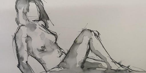 Life Drawing Workshops with Kelly-Anne Cairns