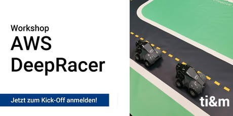 AWS DeepRacer Kick-off Tickets