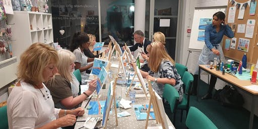 Drink n' Paint Night - Christmas Edition with Mulled Wine