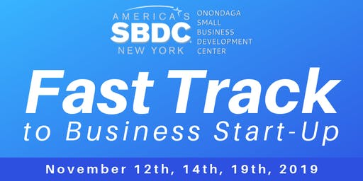 Fast Track to Business Start-Up Workshop - November 2019