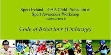 GAA Safeguarding tickets