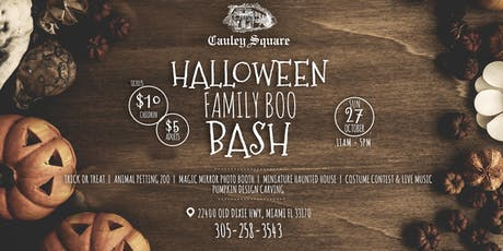 Halloween Family Boo Bash tickets