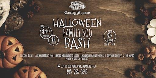 Halloween Family Boo Bash