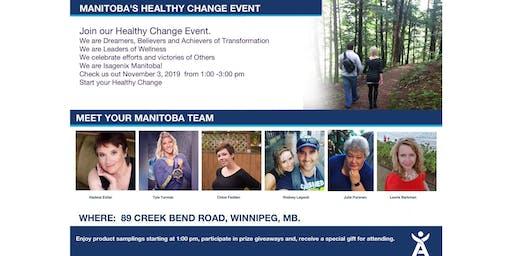 Manitoba's Healthy Change Event