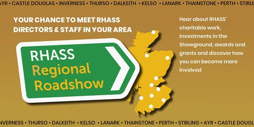 RHASS Regional Roadshow - Ayr Event