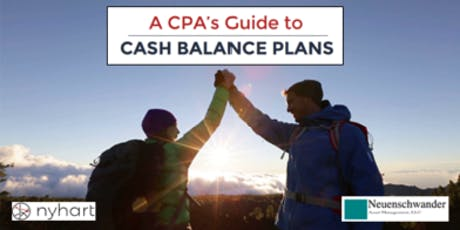 A CPA's Guide to Cash Balance Plans tickets