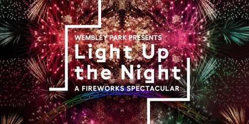 Wembley Park presents: Light Up the Night - a FREE fireworks spectacular