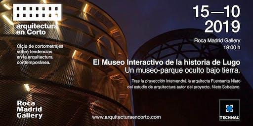 Arquitectura en corto  15 octubre 2019  Madrid