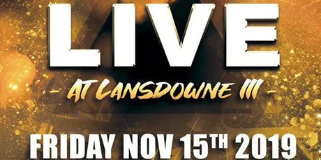 Muay Thai Kickboxing: Live at Lansdowne III tickets