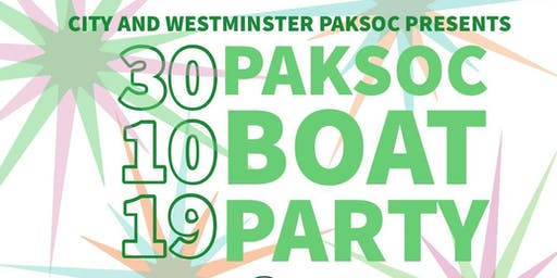 PakSoc Boat Party