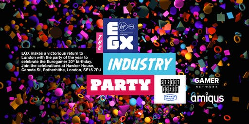 EGX Industry Party 2019