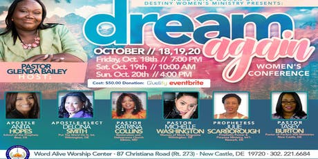 Dream Again ~ Women's Conference - New Castle tickets