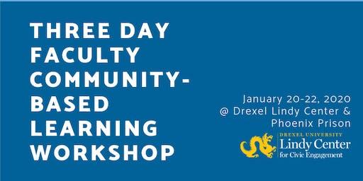 Drexel Community-Based Learning Training - January 2020