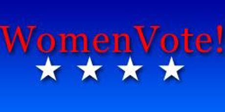Women Vote! Monday October 14th 2019 tickets