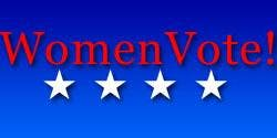 Women Vote! Monday October 14th 2019