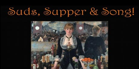 Suds, Supper & Song tickets