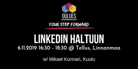 Linkedin haltuun! -workshop tickets