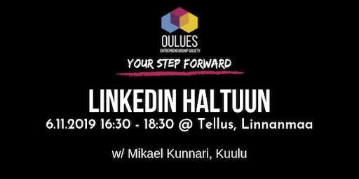 Linkedin haltuun! -workshop