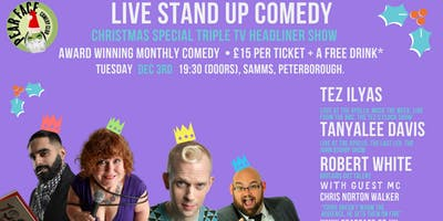 Live Stand up Comedy - Christmas Special Triple Headliner Show