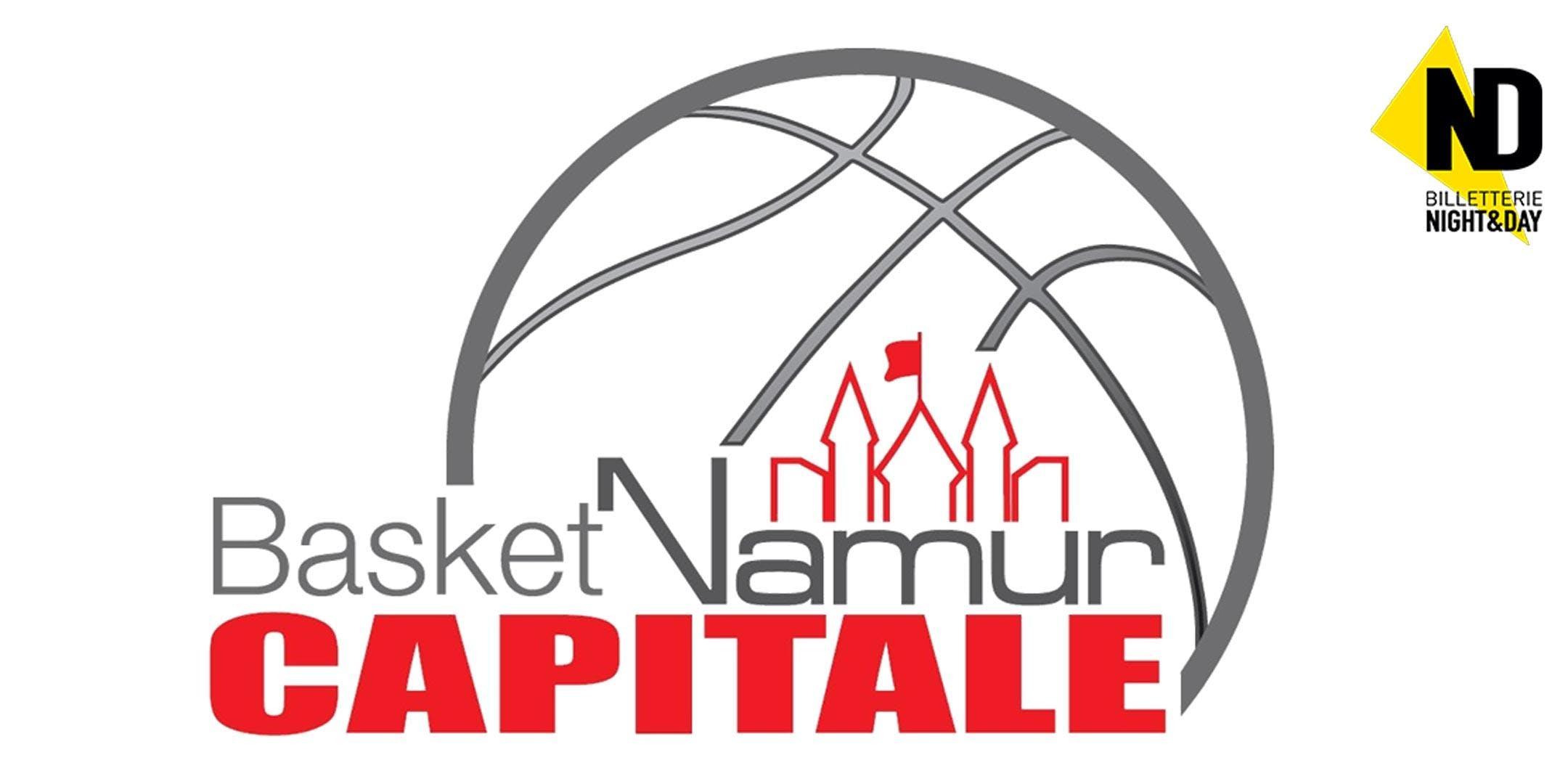 Match de Coupe: Basket Namur Capitale - VOO Verviers Pepinter