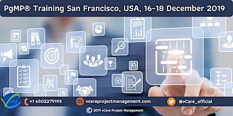 PgMP | Program Management Training | San Francisco | December | 2019 tickets
