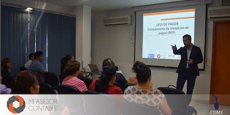 Auditorias SAT, CFDI 3.3, REP y CFDI Nóminas CDMX boletos