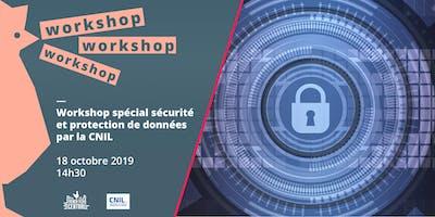 Workshop spécial sécurité et protection des don