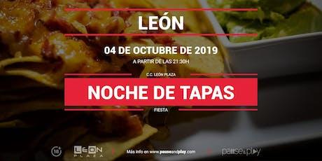 Noche de tapas en Pause&Play León Plaza entradas
