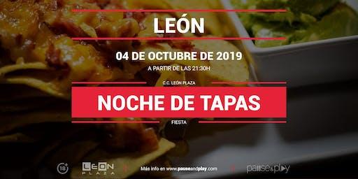 Noche de tapas en Pause&Play León Plaza