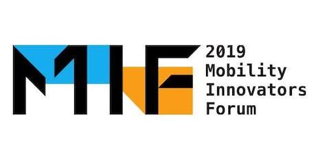 Mobility Innovators Forum 2019 tickets