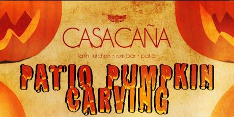 Pumpkin Carving Fiesta at Casa Caña! tickets