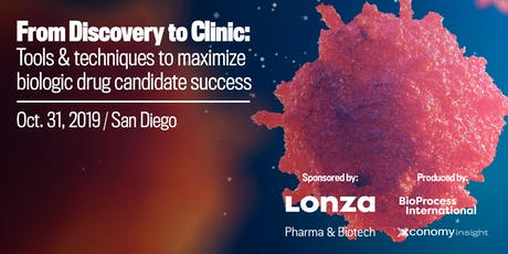From Discovery to Clinic: Approaches & Tools for Biopharma Success - San Diego tickets