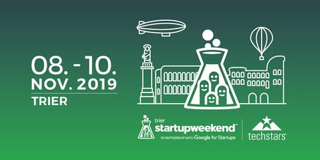 Techstars Startup Weekend in Trier - November 2019 Tickets