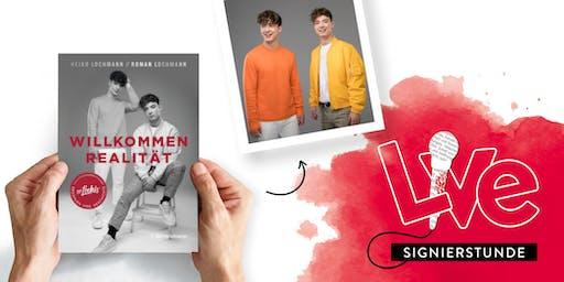 SIGNIERSTUNDE: Heiko und Roman Lochmann live